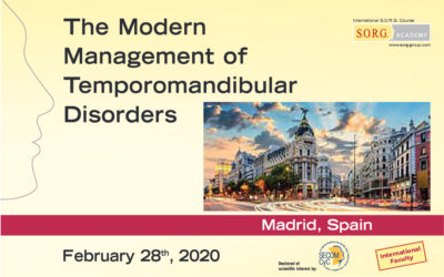 The modern management of temporomandibular disorders
