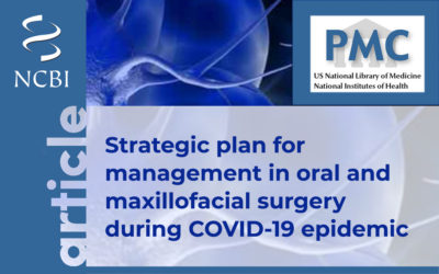 Strategic plan for management in oral and maxillofacial surgery during COVID-19 epidemic